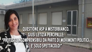 "Photo of MISTERBIANCO, ASP. GIUSI PERCIPALLE: ""PROTESTE SUPERFLUE E INCOMPRENSIBILI DI MOVIMENTI POLITICI CHE DANNO SPETTACOLO"""